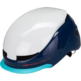 KED Mitro UE-1 Helmet white/blue
